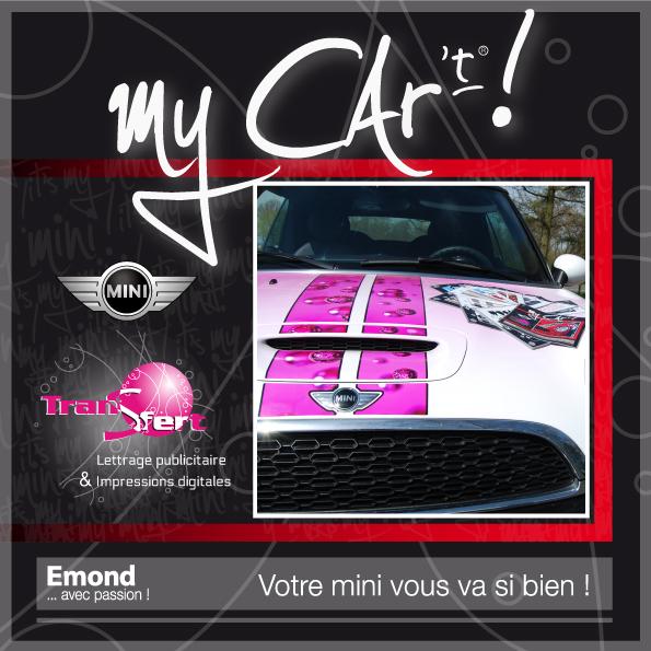 ...avec le nouveau catalogue de motifs personnalisés pour la décoration de véhicules